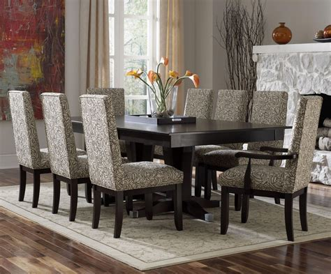 black and white dinette modern dining room sets as one of your best options