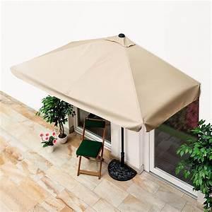 Sonnenschirm 4x4m Eckig : balkon sonnenschirm eckig beige von g rtner p tschke ~ Sanjose-hotels-ca.com Haus und Dekorationen
