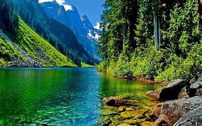 Desktop Landscape Mountain Pc Backgrounds River Laptop