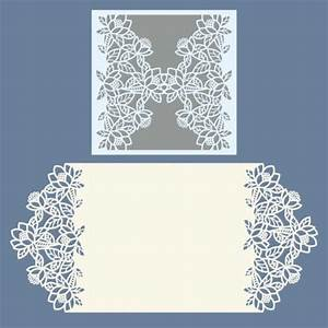 laser cut wedding invitations template free vector designs With laser cut wedding invitations file