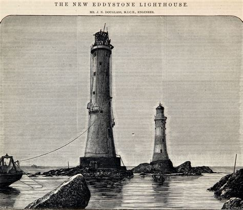 eddystone lighthouse graces guide