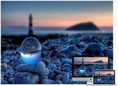 Nature Desktop Wallpapers Sunset Sea Designing Web