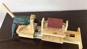 4 in 1 Drill Press Build Pt3 : Thickness Sander / 4 in 1