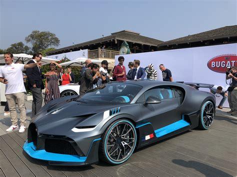 bugatti unveils divo limited edition million hypercar auto
