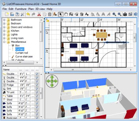 3d Home Design Software List by List Of Best Free Home Design Software For 3d Home