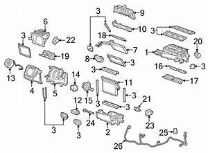 Chevrolet Camaro Hvac Air Inlet Door Actuator  Temp  Valve