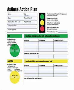 Asthma action plan for My asthma action plan template