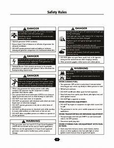 Husqvarna 1365gn Generator Owners Manual