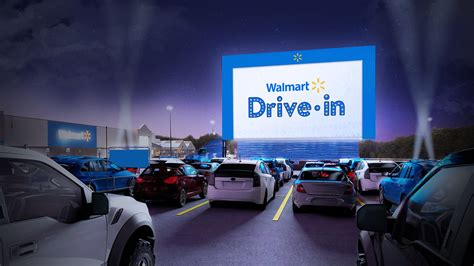 Walmart will turn 160 parking lots into drive-in movie ...
