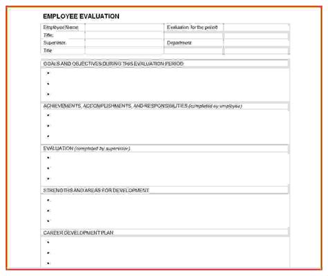 annual review template annual appraisal form mughals