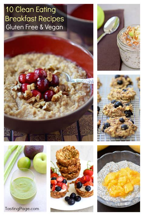 Sign up to discover your next favorite restaurant, recipe, or cookbook in the largest community of knowledgeable food enthusiasts. Clean Eating Breakfast Recipes {Gluten Free & Vegan ...