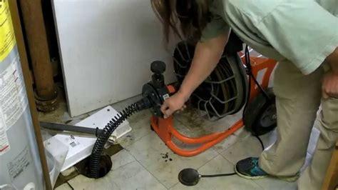 unclog  main  drain easy  cheap