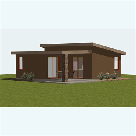 small modern floor plans small house plan small guest house plan