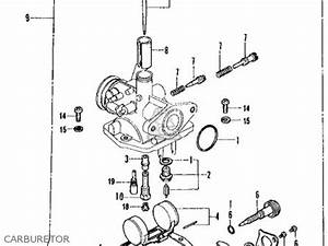 honda ct70 trail 70 k2 1973 usa parts lists and schematics With honda ct 70 engine diagram get free image about wiring diagram