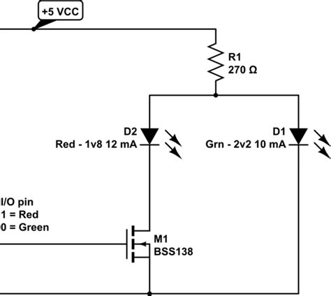 Attiny Drive Common Anode Color Led Using Single