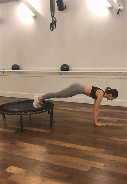 Plank Trampoline Sequence Workout Jump Blasting Calorie