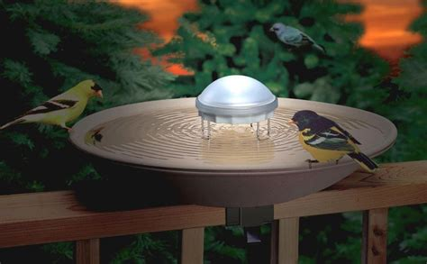 water wiggler solar bird bath contemporary powered moving choice place options