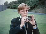 """David Hemmings, ready for his """"Blow-Up""""   Interviews ..."""