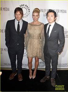 Who's Steven Yeun's Girlfriend | ... ! | Laurie Holden ...