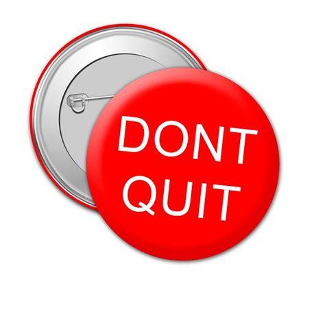 illustration dont quit badge message success