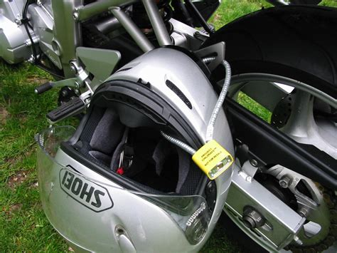 Do You Leave Your Helmet On Your Bike?