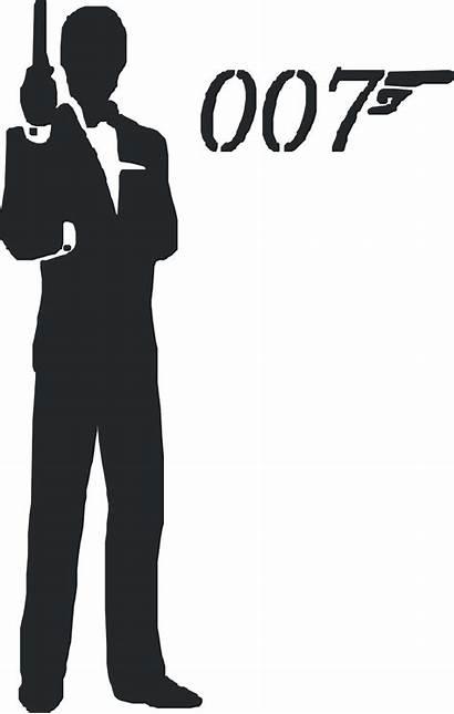 Bond James 007 Clipart Vector Budget Clip