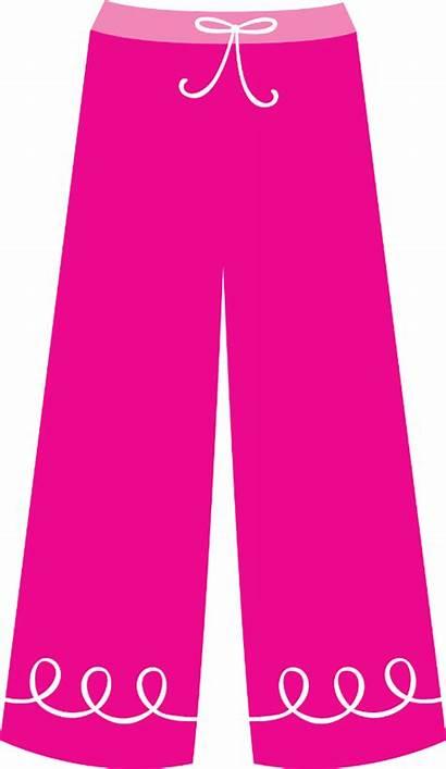 Pants Clipart Pajama Clothes Clip Pajamas Paper