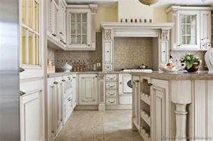 white kitchen wood island pictures of kitchens traditional white antique kitchens kitchen 76