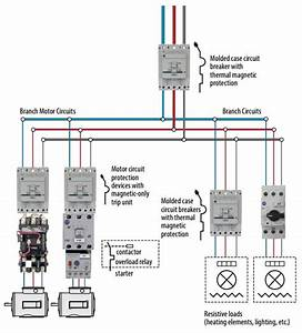 Hyderabad Institute Of Electrical Engineers  Motor Protection Circuit Breaker Schematic Diagram