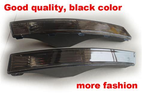 free shipping quality black bumper corner side marker
