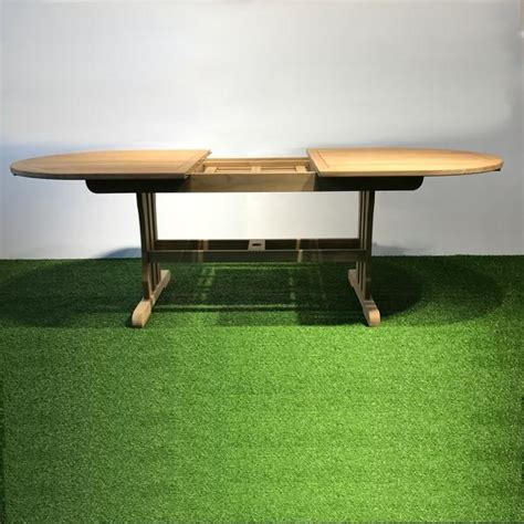 Find the best coffee tables in singapore today. Geneva Extendable Teak Table Oval at Hemma.sg - Hemma Online Furniture Store Singapore