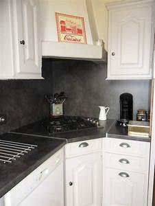 Plan De Travail Hydrofuge : ma nouvelle cuisine photo 2 6 plan de travail et ~ Dailycaller-alerts.com Idées de Décoration
