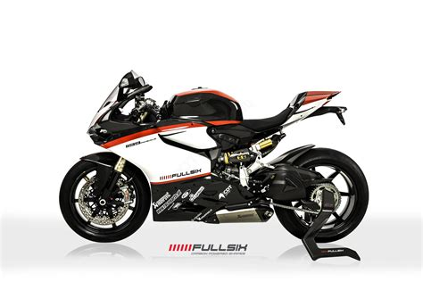 Ducati Panigale V4 Carbon Edition by Carbon Fiber Racing Side Stand By Fullsix Ducati