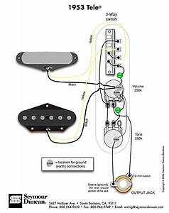 Install 52 Telecaster Wiring Diagram 3 Way