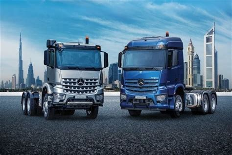 mercedes benz actros arocs trucks launch