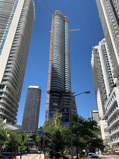 Brickell Miami Flatiron Cladding Skyrisecities