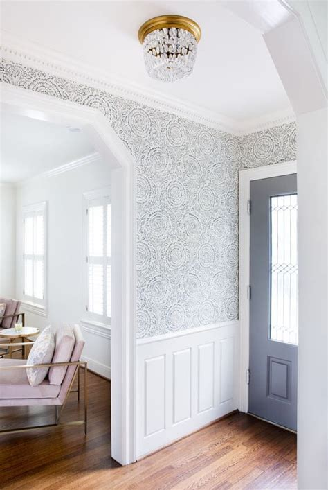 incredible wallpaper ideas  transform  entryway