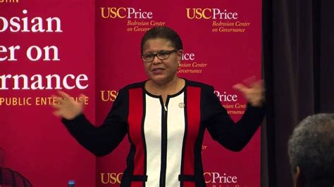 Coffee with a Leader : Karen Bass - YouTube