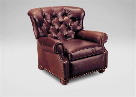 Ethan Allen Leather Furniture Care by Cromwell Leather Recliner Leather Sofa Guide