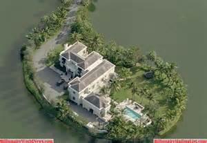Billionaire Mansion Aerial View