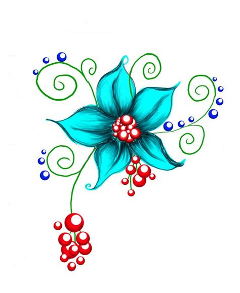 design of flower flower designs for tattoos cliparts co