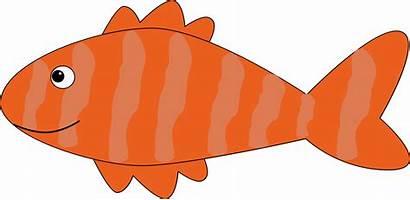 Clipart Fish Orange Cartoon Transparent