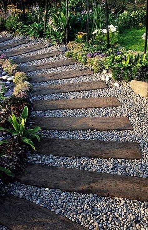 how to make a cheap garden path diy garden ideas 08