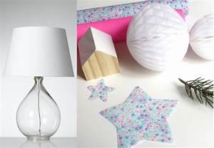 customiser une lampe en verre joli place With kitchen cabinets lowes with deco boule papier