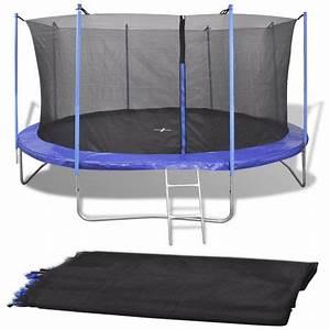 Filet De Sécurité : filet de s curit pour trampoline rond 3 66 m pe noir ~ Melissatoandfro.com Idées de Décoration