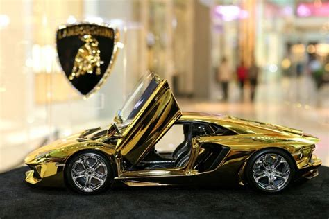 gold lamborghini aventador worth  million zooming