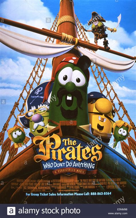 THE PIRATES WHO DON'T DO ANYTHING: A VEGGIETALES MOVIE, US ...