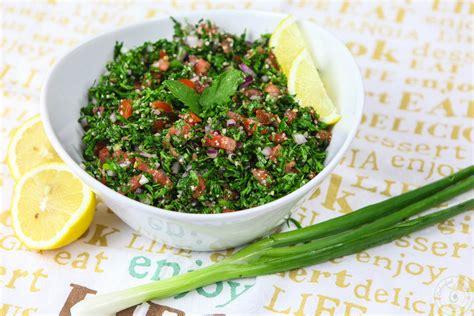 fresh light authentic lebanese tabbouleh colorful recipes