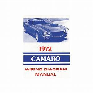 Camaro Wiring Diagram Manual  1972 33