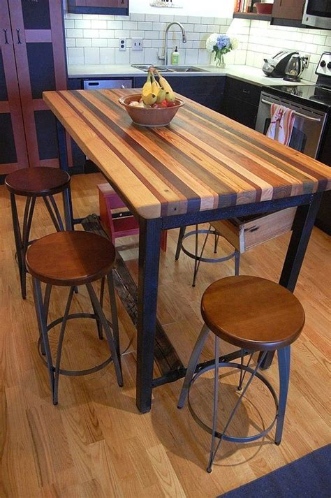 island with seating butcher block butcher block kitchen island house of v Kitchen